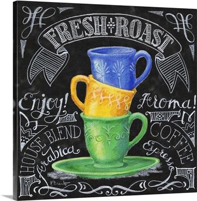 Chalkboard Coffee I