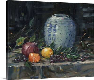 Chinese Urn with Fruit