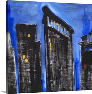 Cityscape Blue