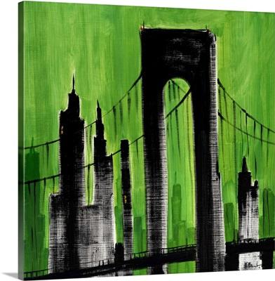 Cityscape Green