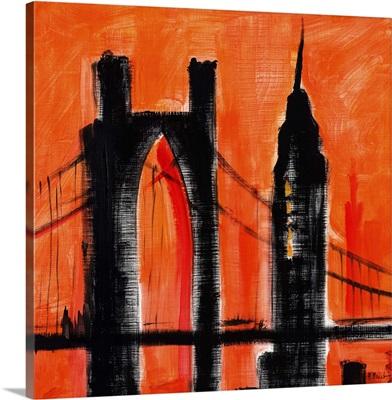 Cityscape Orange