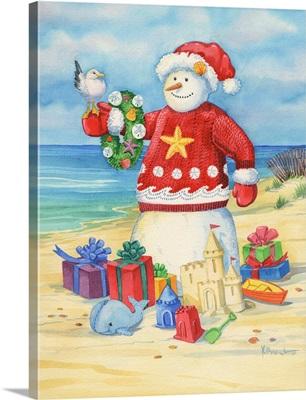 Coastal Snowman