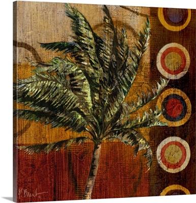 Contemporary Palm I - Square