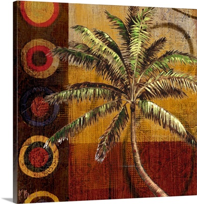 Contemporary Palm II - Square