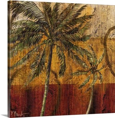 Contemporary Palm III - Square