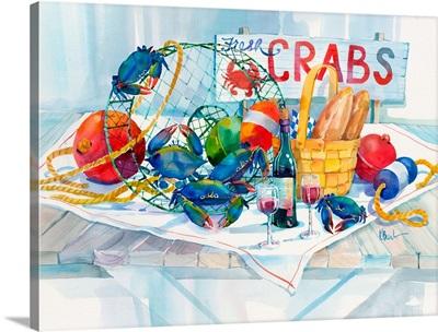 Crabs Galore