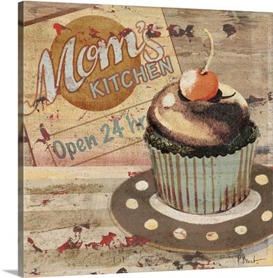 Cupcake Baking Sign I