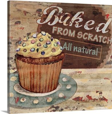 Cupcake Baking Sign II
