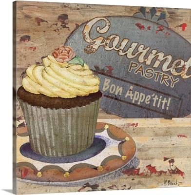 Cupcake Baking Sign IV