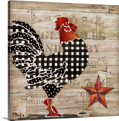Farmhouse Rooster I