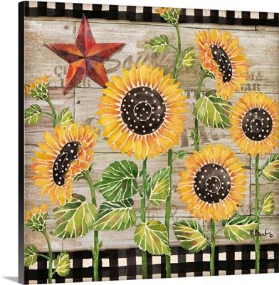 Farmhouse Sunflowers