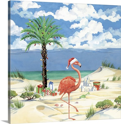 Flamingo Christmas Beach