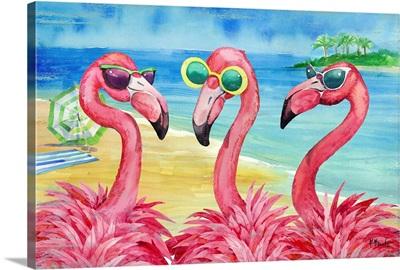 Flamingo Girlfriends Horizontal
