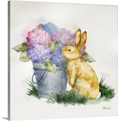 Floral Rabbit IV