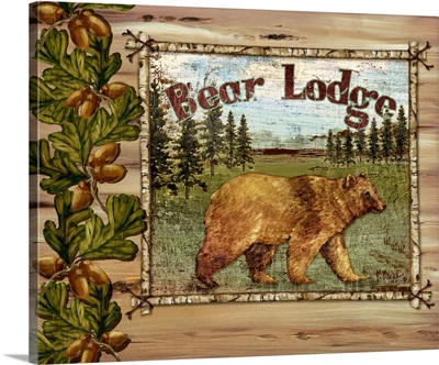 Forest Collage - Bear