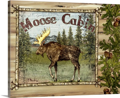 Forest Collage - Moose
