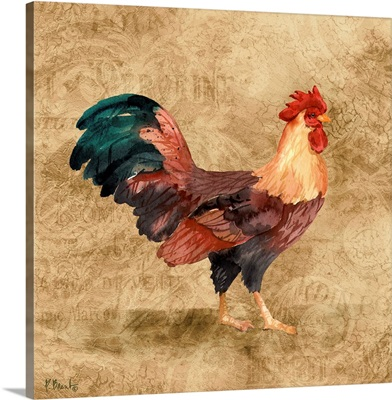 French Countryside Rooster I