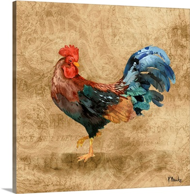 French Countryside Rooster II