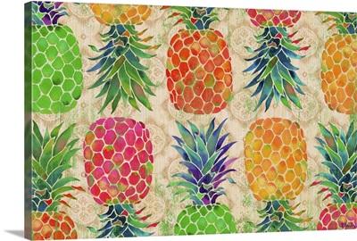 Fruit Ikat Horizontal
