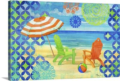 Geo Beach Horizontal