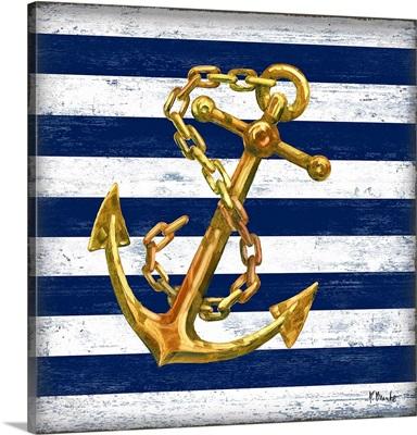Gilded Anchor - Stripes
