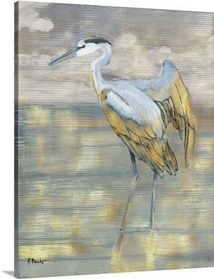 Golden Blue Heron