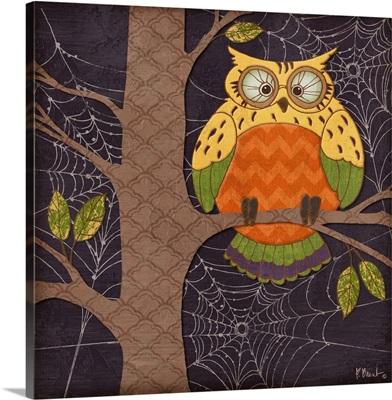 Halloween Fantasy Owls I