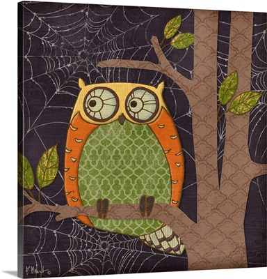Halloween Fantasy Owls IV