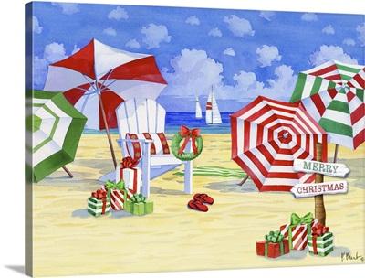 Holiday Umbrella Beach