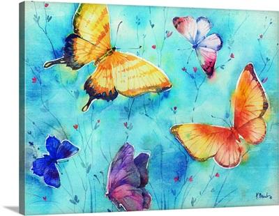 Isabella Butterflies Horizontal