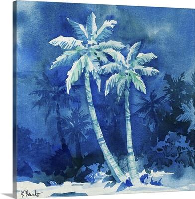 Midnight Palms I