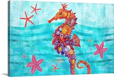 Nassau Seahorse Horizontal