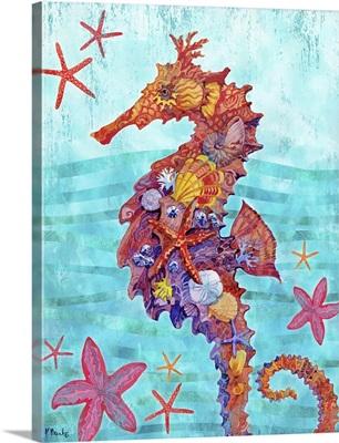 Nassau Seahorse Vertical