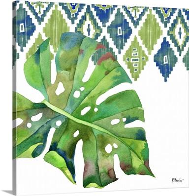 Palm Fronds I - Blue
