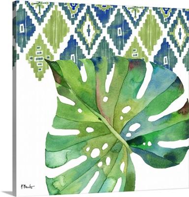 Palm Fronds II - Blue