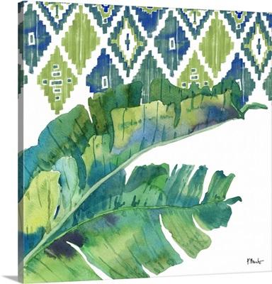 Palm Fronds III - Blue