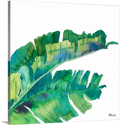 Palm Fronds III - White