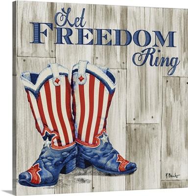 Patriotic Boots I