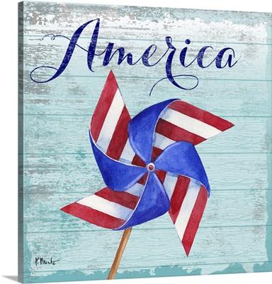 Patriotic Pinwheel I