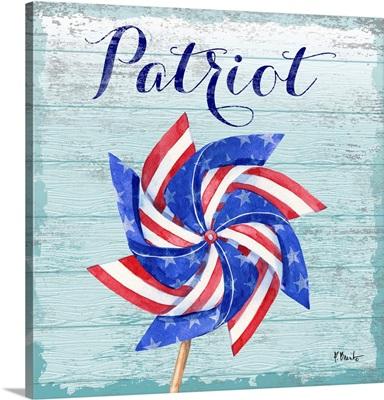 Patriotic Pinwheel IV