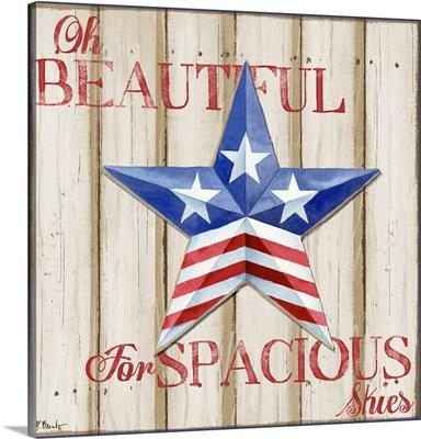 Patriotic Spirit Barn Star II