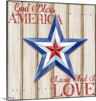Patriotic Spirit Barn Star III