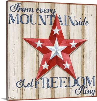 Patriotic Spirit Barn Star IV