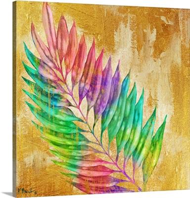 Prism Palm I - Gold