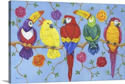 Rio Tropical Birds - Blue