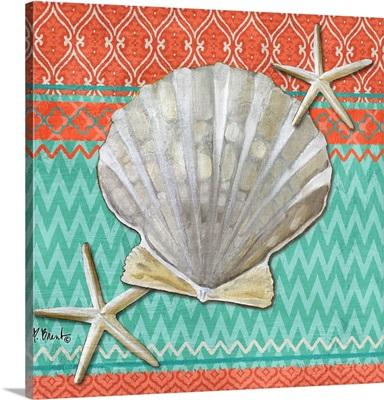 Santa Cruz Shells III - Aqua