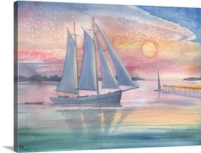 Sunset Sail I