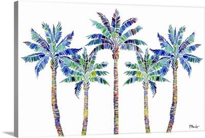 Tahiti Palm Horizontal