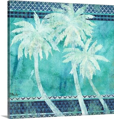 Turquoise Palms I