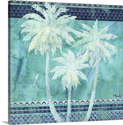 Turquoise Palms II